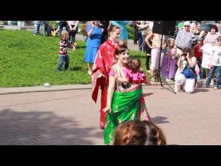 Индийский слинготанец, 1 июня 2013, Кострома